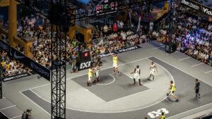 Première séance de la Ligue de basketball 3x3 de Gatineau