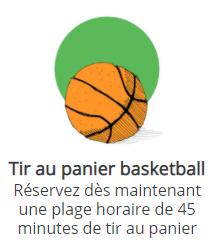 Tir au panier basketball - Participation libre
