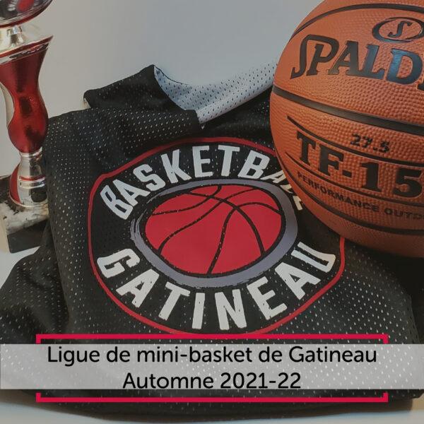 Ligue de mini-basket de Gatineau - Automne 2021-22
